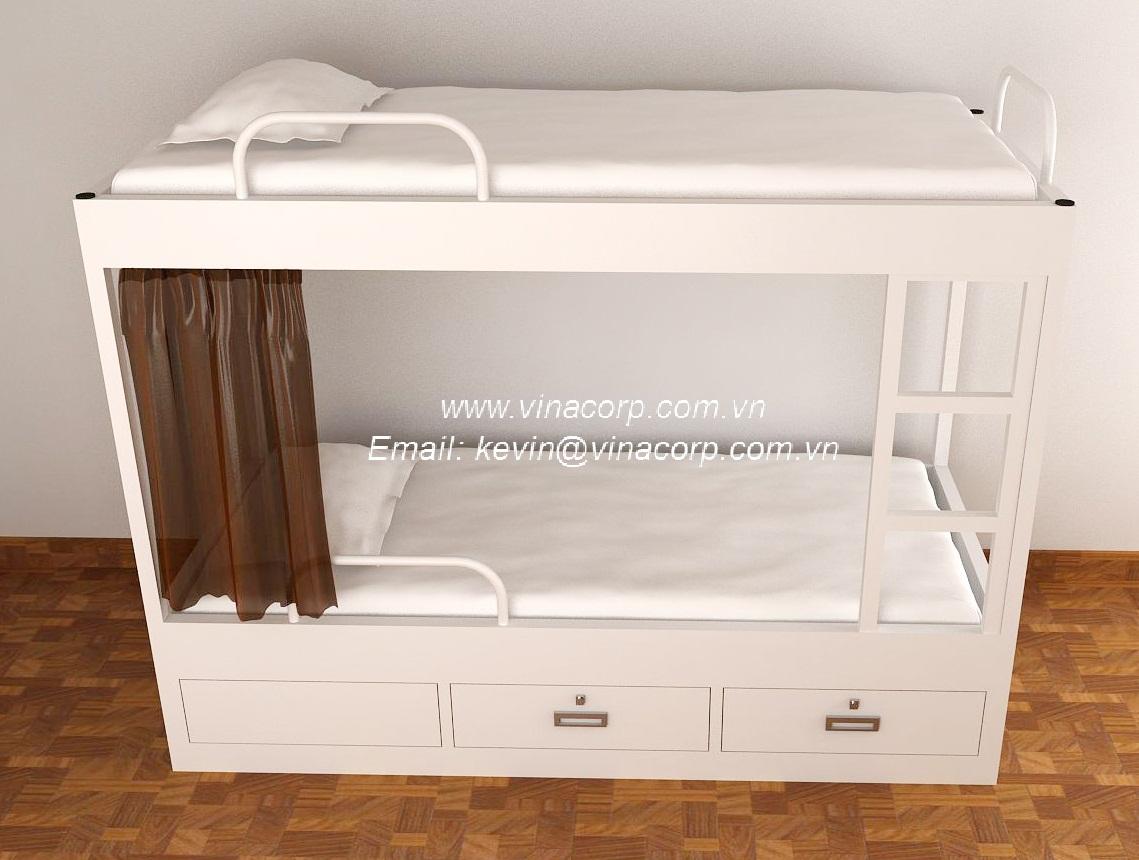 Giường Sắt Có Ngăn Kéo