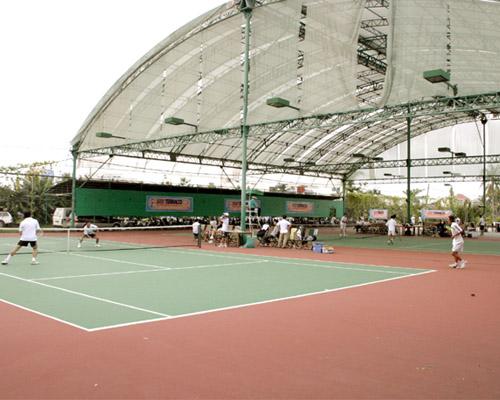 Thiết kế sân tennis