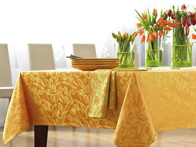 Vải nội thất trang trí bàn ghế ăn