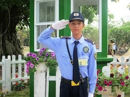 Nhân viên bảo vệ cơ quan