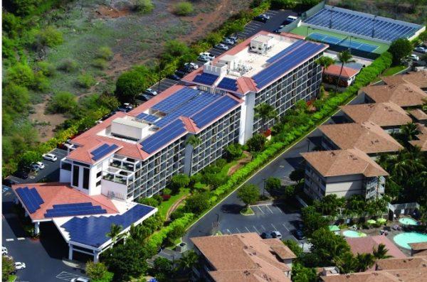 Hệ thống điện NLMT cho nhà máy, khách sạn