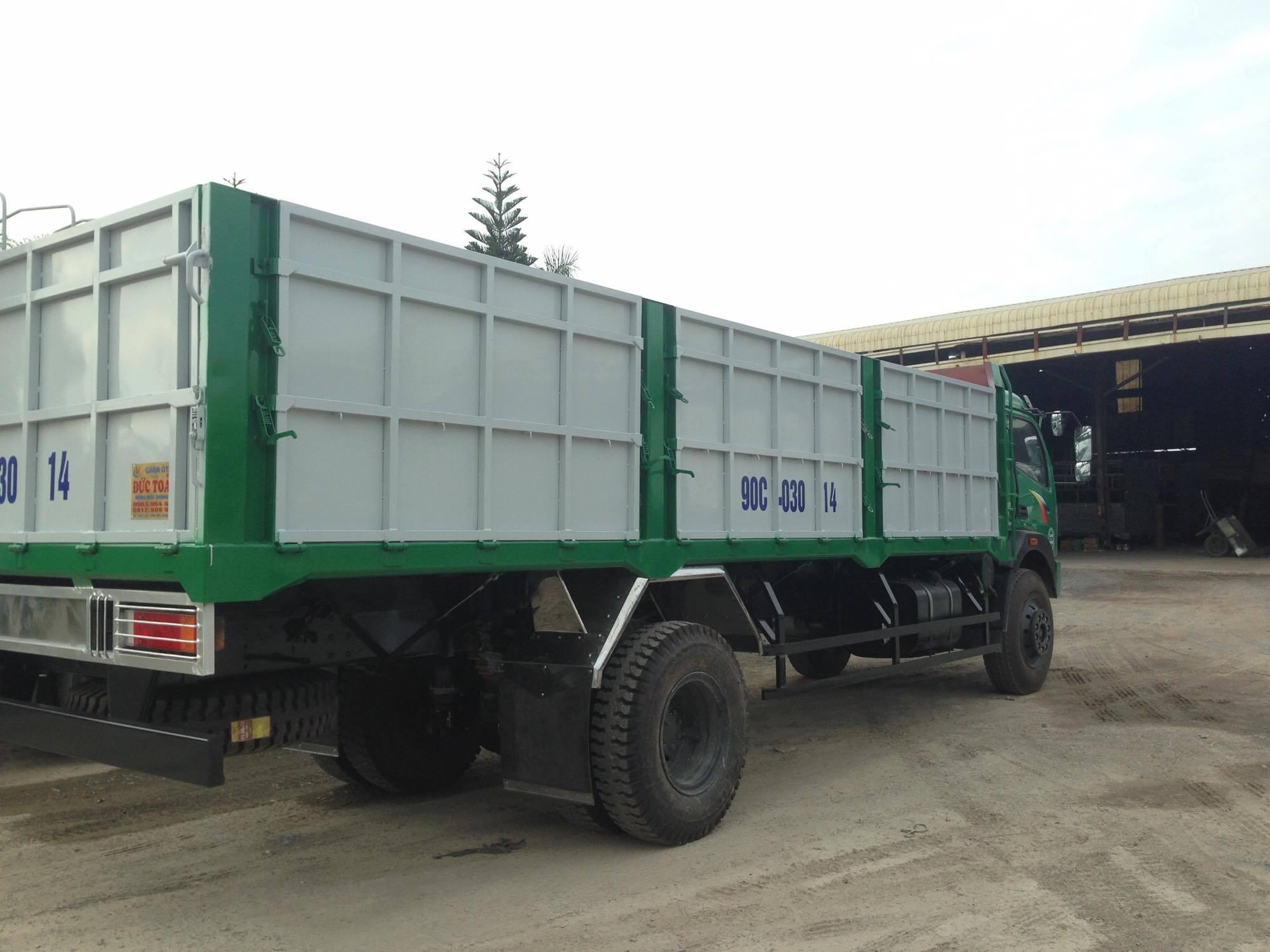 Xe tải thùng lửng