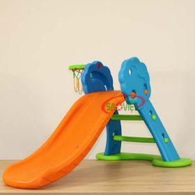Cầu Trượt Mini Bóng Rổ Gấp Gọn