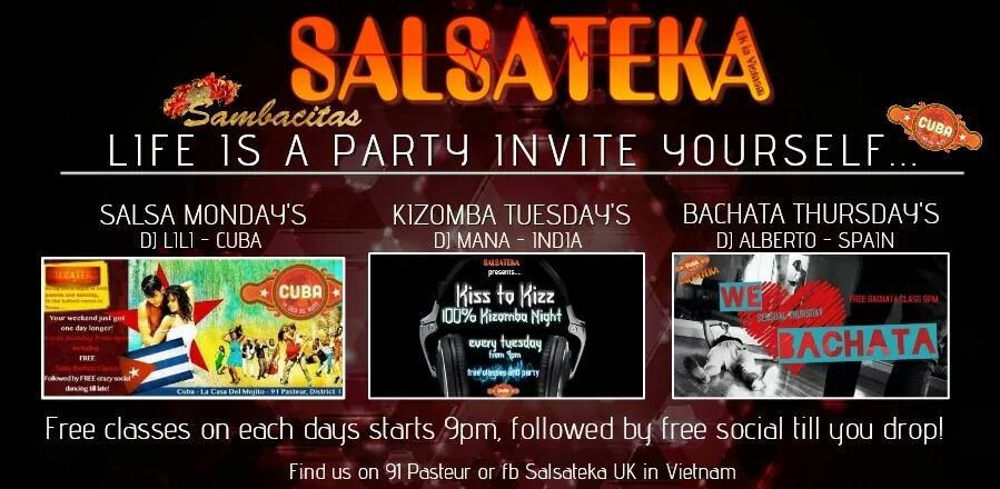 Salsa Party 27/05/2017