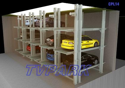 Hệ thống đỗ xe tầng hầm