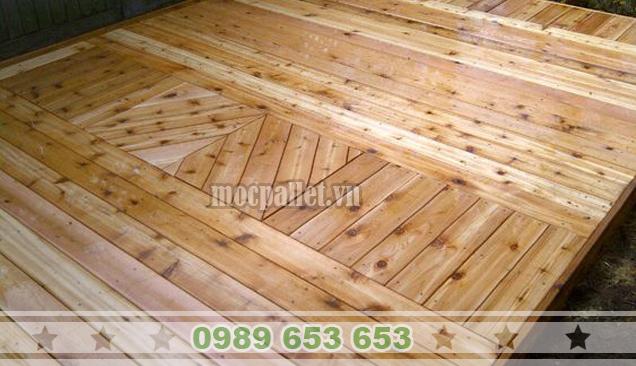 Sàn gỗ thông