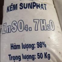KẼM SUNFAT (ZNOS4 98% MIN)