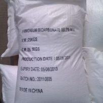 AMONIUM BICARBONATE (NH4HCO3)