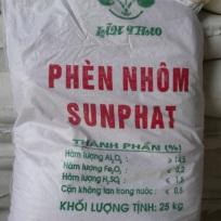 PHÈN NHÔM SUNFAT ( AL2(SO4)3 .18 H2O)