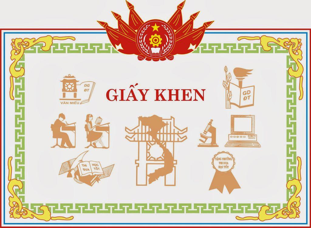 In giấy Khen