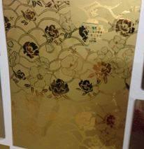 Inox hoa văn trang trí