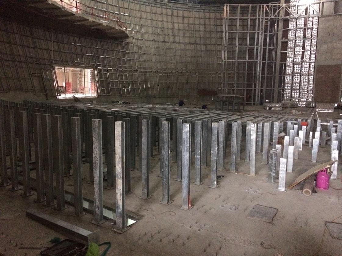 Kết cấu thép Công trình Tòa nhà Quốc Hội