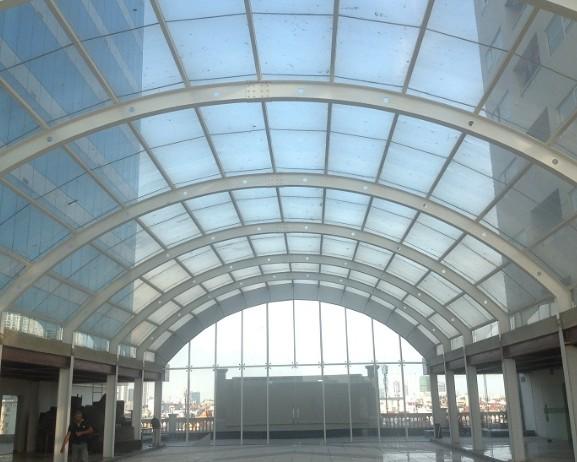Nhà mái vòm kính Hapulico