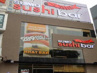 Nhà hàng Sumo Sushibar 16 – 18 Nguyễn Chí Thanh