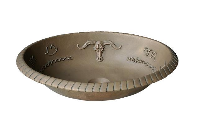 Lavabo bằng đồng BS026
