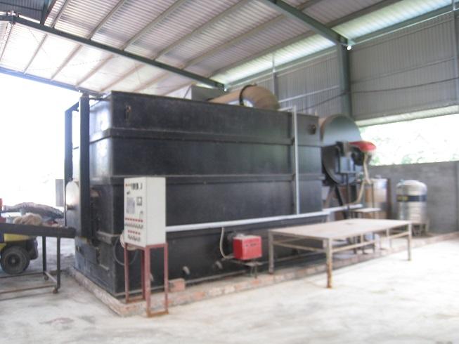 Lò đốt rác thải công nghiệp 300kg