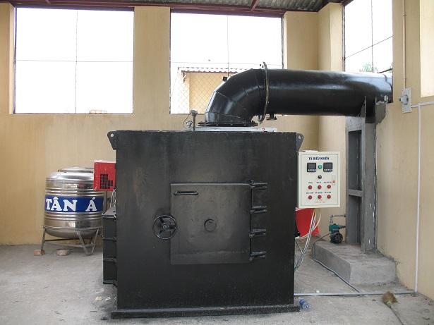 Lò đốt rác thải y tế 30kg