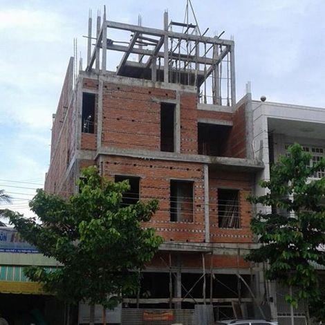 Thi công công trình nhà phố