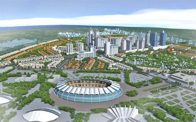Thiết kế quy hoạch xây dựng các khu đô thị