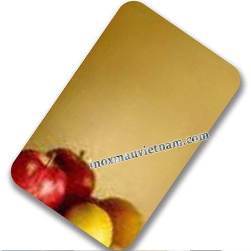 Inox tráng gương vàng