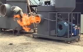 Lò hơi đốt viên nén