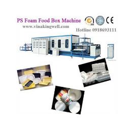 Máy định hình xốp hộp cơm