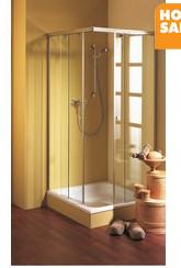 Phòng tắm kín vuông góc