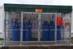 Cụm chai khí LPG công nghiệp
