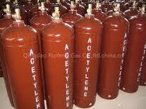 Vỏ chai khí C2H2 ( Acetylen) loại 40 lít