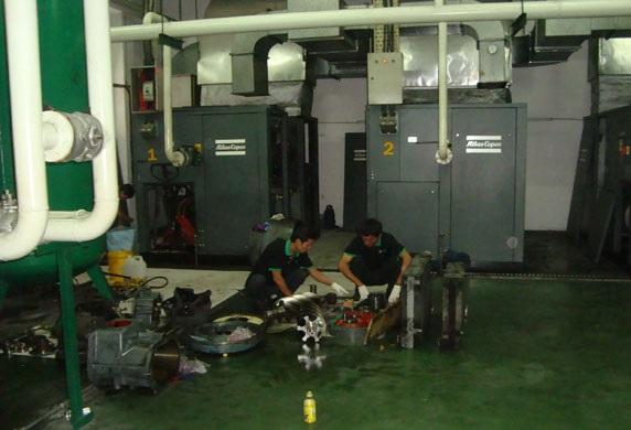 Dịch vụ sửa chữa, bảo trì máy nén khí