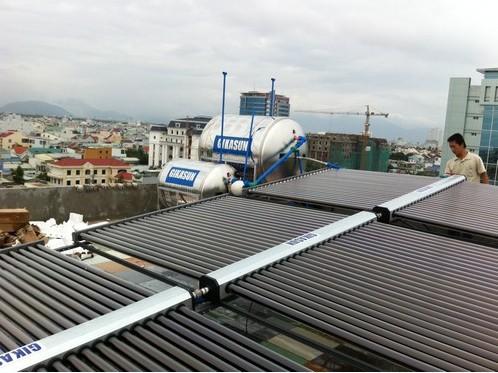 HT năng lượng mặt trời tại bệnh viện Đậu Nâu