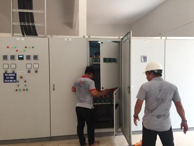 Trạm điện 3000KVA kết hợp ATS công trình TÂN Á ĐẠI THÀNH