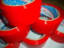 Băng dính OPP màu đỏ