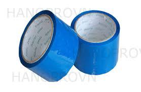 Băng dính OPP màu xanh