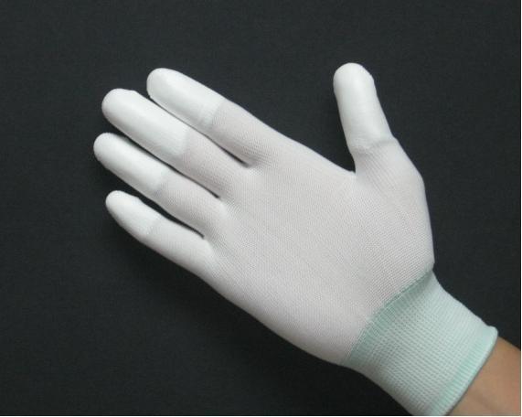 Găng tay phủ PU ngón