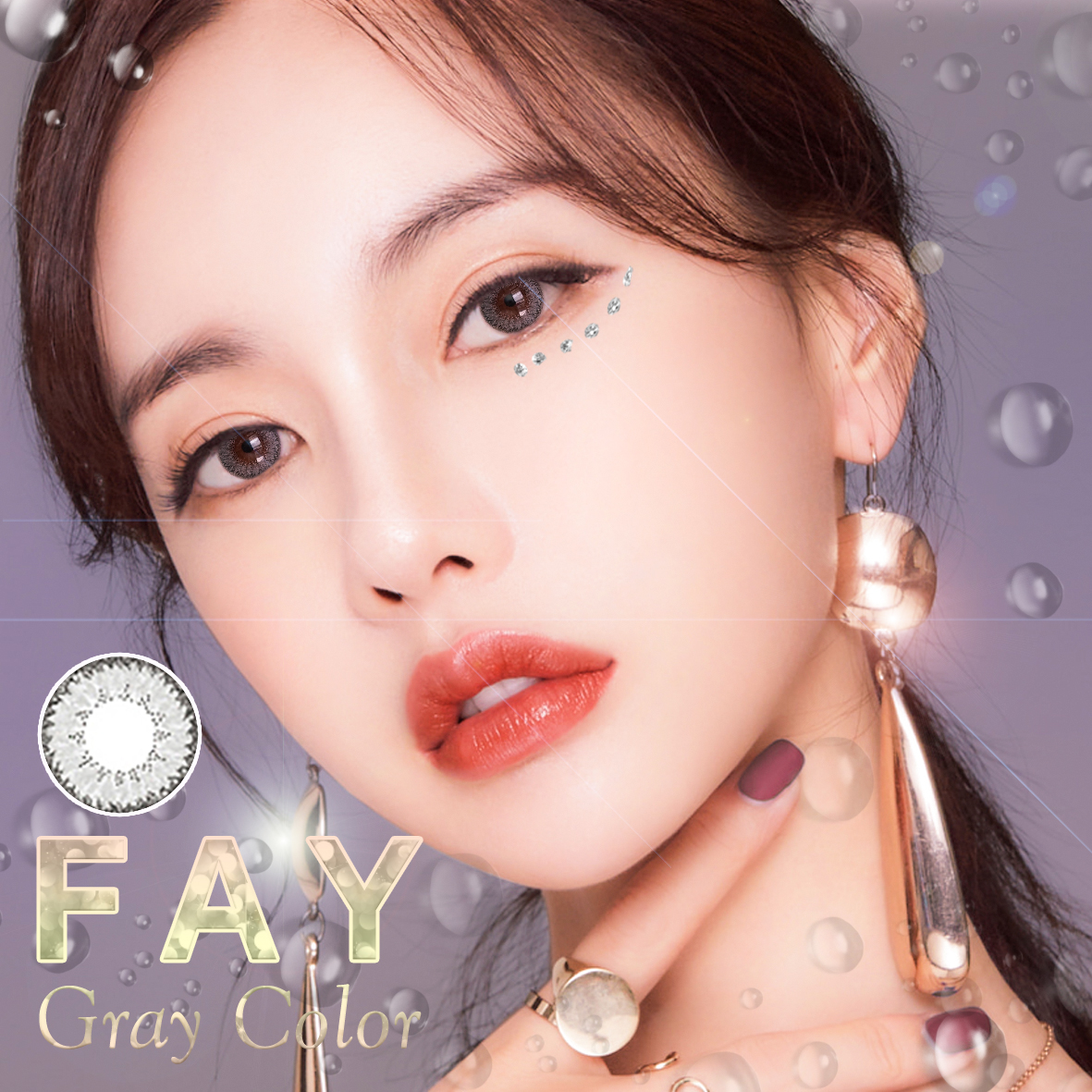 kính áp tròng Fay Gray