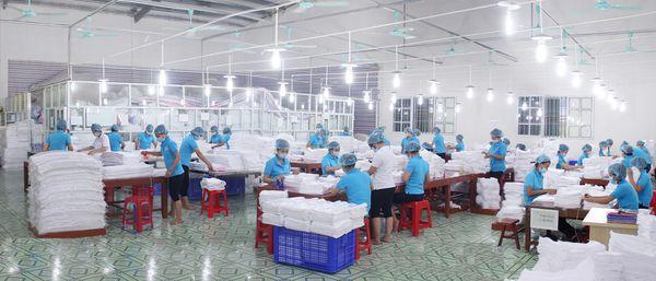 Phân xưởng đóng gói phân loại