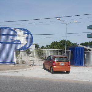 Cổng công ty Phú Gia