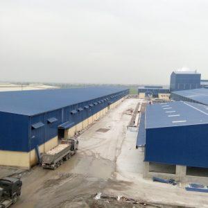 Công trình nhà máy may IVORY