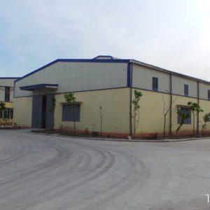 Công trình nhà xưởng điện cơ AIDI