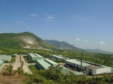 Xử lý chất thải tại nhà máy Hà Tĩnh