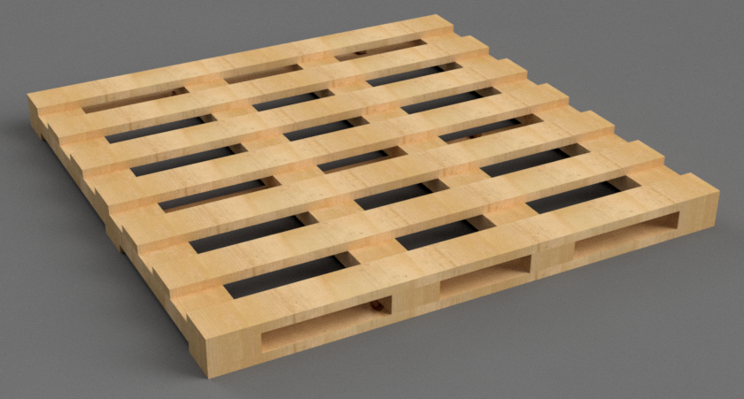 Pallet gỗ 1 mặt