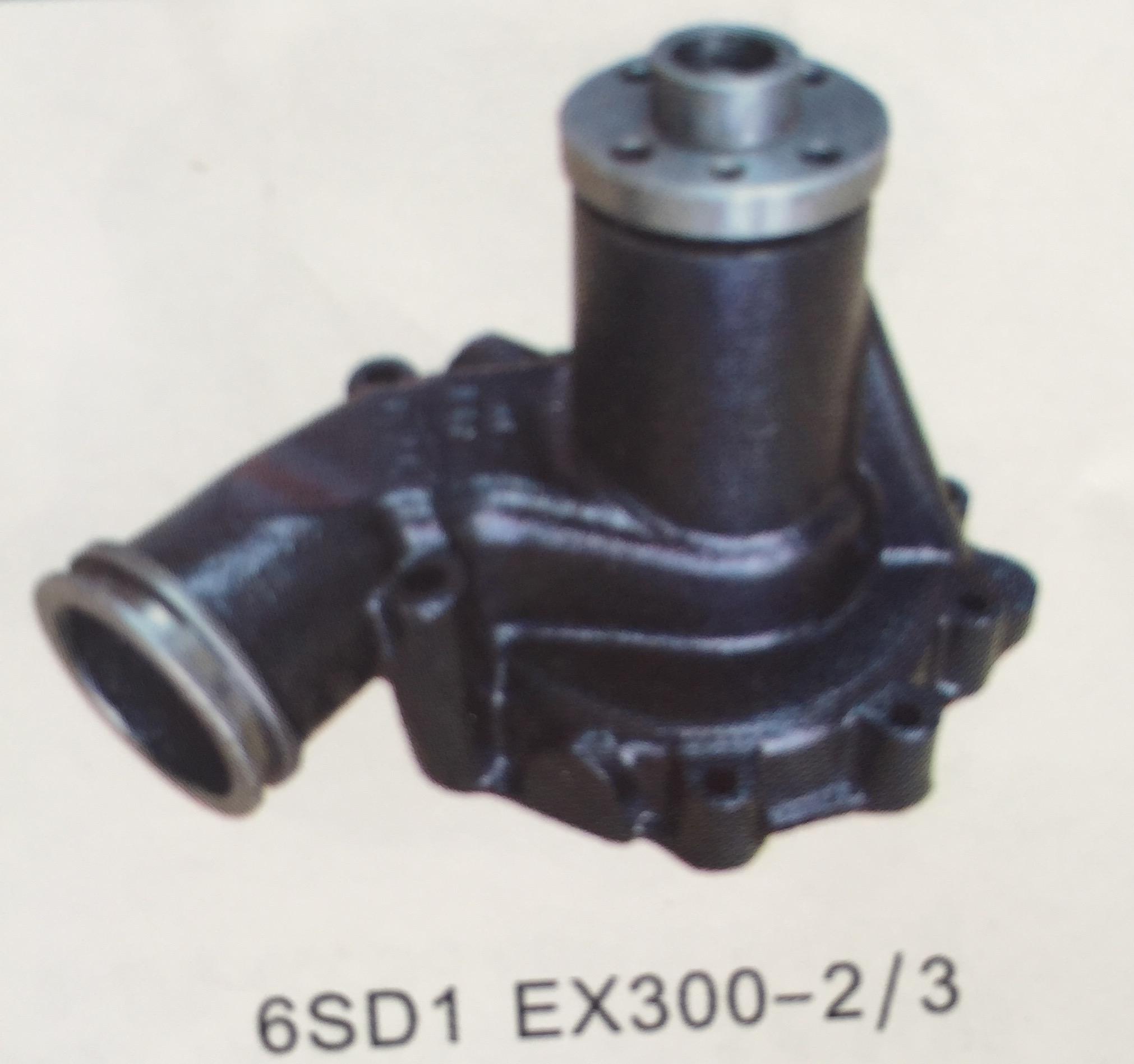 BƠM NƯỚC 6SD1 , XE HITACHI EX 300