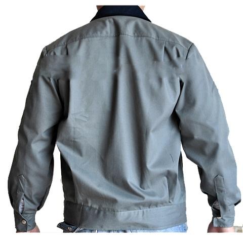 Áo khoác màu ghi đậm
