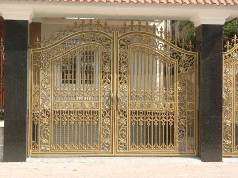 Thiết kế các loại cửa cổng sắt