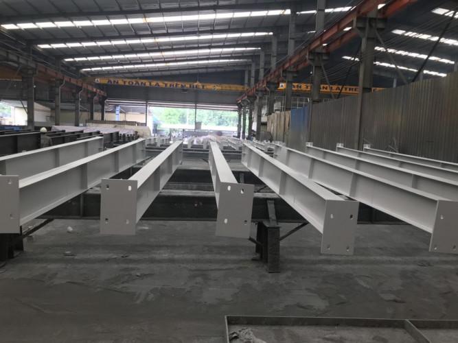 Thi công nhà xưởng kết cấu thép