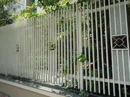 Hàng rào inox sơn tĩnh điện
