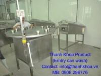Thùng rửa lon rỗng