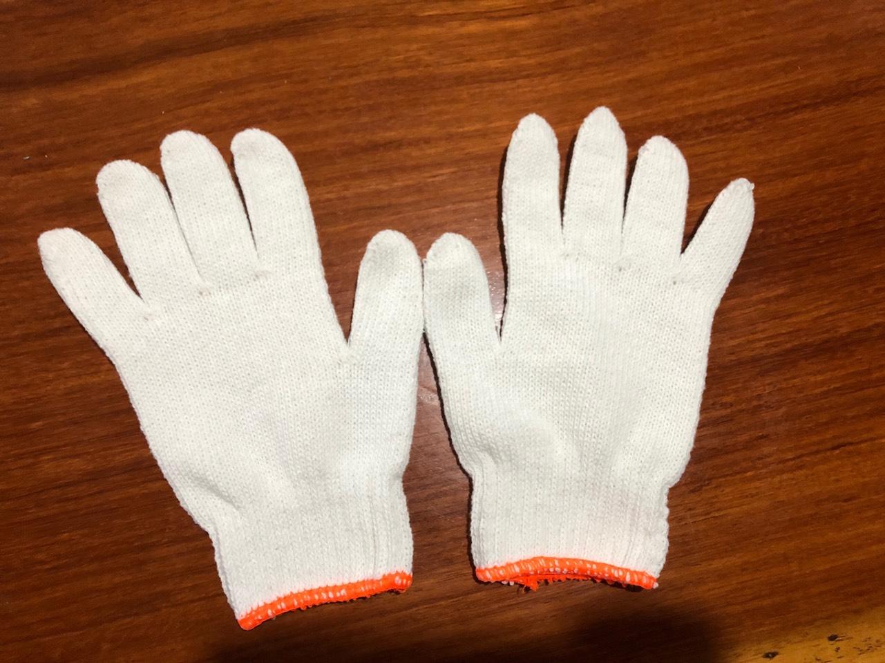 Găng tay len màu trắng 40-50-60-70g