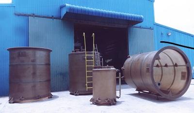 Bồn chứa axit clohydric